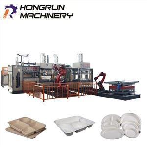 Sugarcane Paper Plate Machine